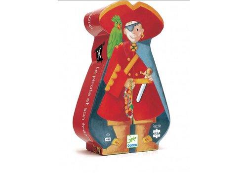 Le pirate et son trésor - 36 pièces