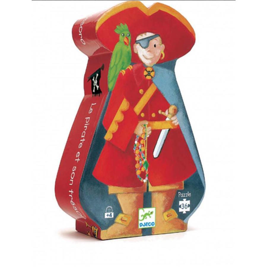 De piraat en z'n schat - puzzel van 36 stukjes-1