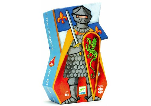 De ridder en de draak - 36 stukjes