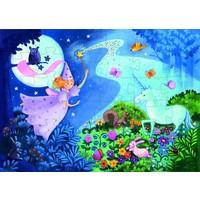 thumb-La fée et la licorne - puzzle de 36 pièces-2