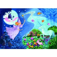 thumb-The fairy and the unicorn - puzzle of 36 pieces-2