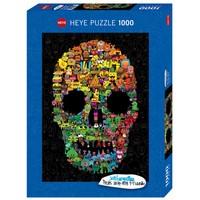 thumb-Doodskop Doodle - puzzel van 1000 stukjes-2