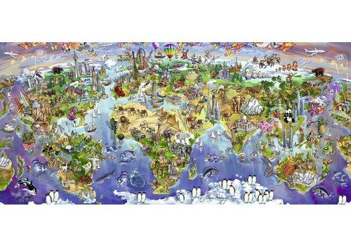 Wereldwonderen - 2000 stukjes