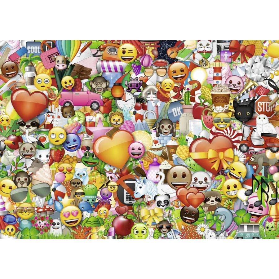 Emoji II - puzzel van 1000 stukjes-1