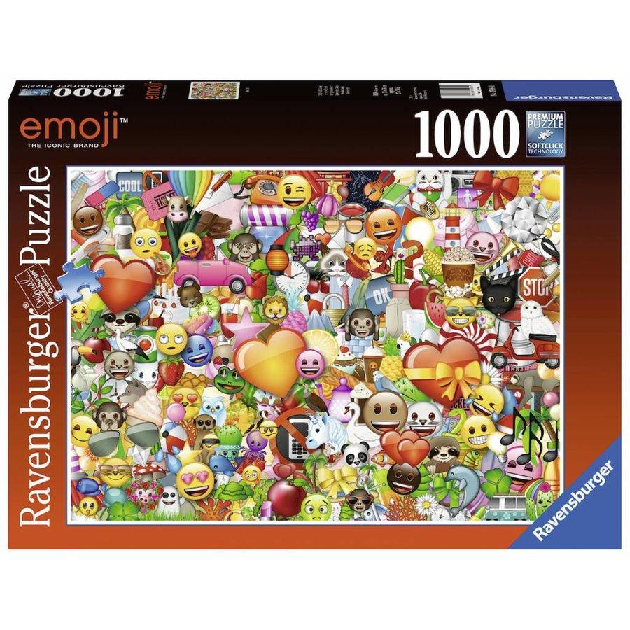 Emoji II - puzzel van 1000 stukjes-2