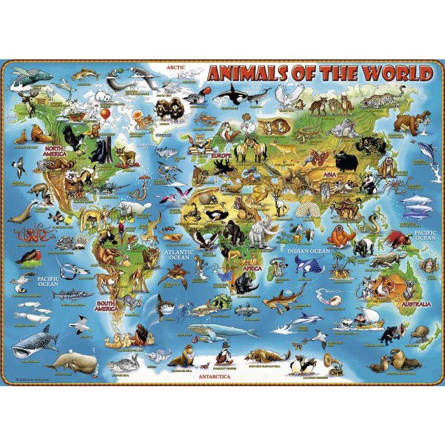 Dieren van de wereld - 300 stukjes-1