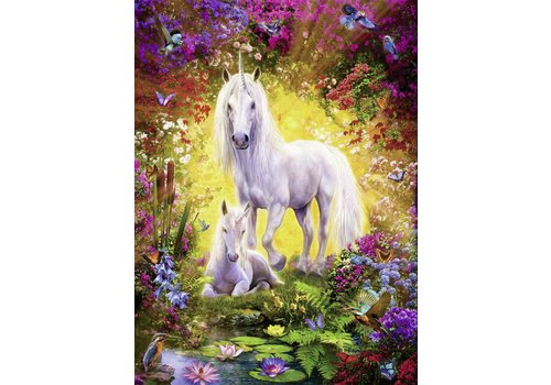 Ravensburger Unicorn with foal - 500 pieces