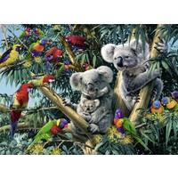 thumb-Koala's in de boom - 500 stukjes-1