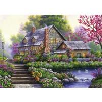 thumb-Romantische cottage - 1000 stukjes-1