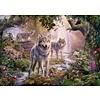 Ravensburger Wolvenfamilie in de zomer - legpuzzel van 1000 stukjes
