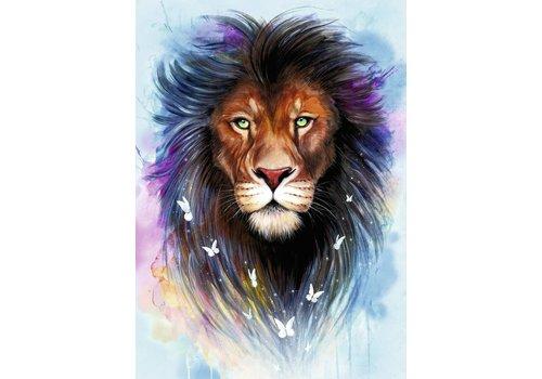 Majestueuze leeuw - 1000 stukjes