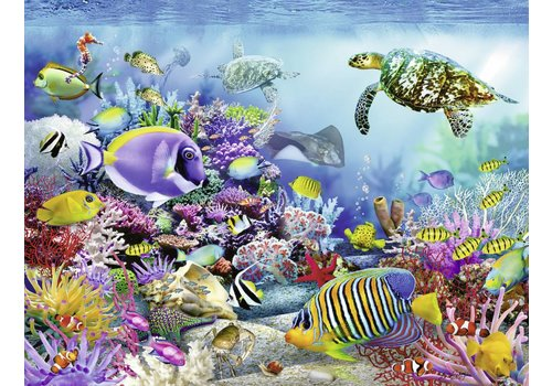Magnificent coral reef  - 2000 pieces