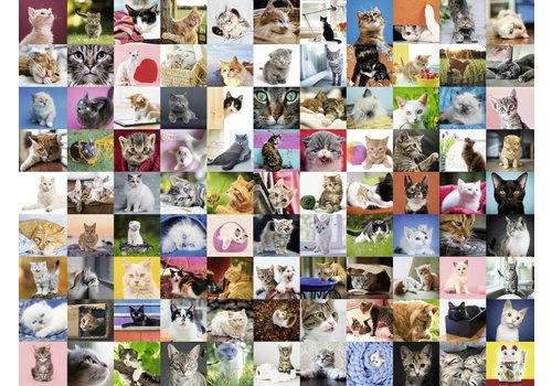 99 Katten - 1500 stukjes