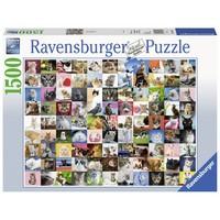 thumb-99 Katten  - puzzel van 1500 stukjes-2