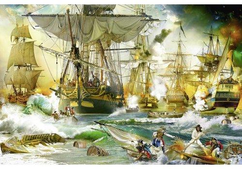 Slag op volle zee - 5000 stukjes