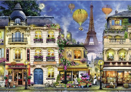 La nuit à Paris - 18000 Pièces