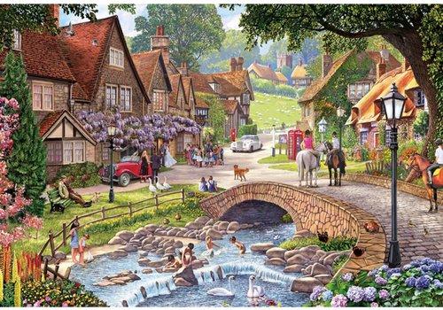 Wisteria Wedding - puzzle 250 XL pieces