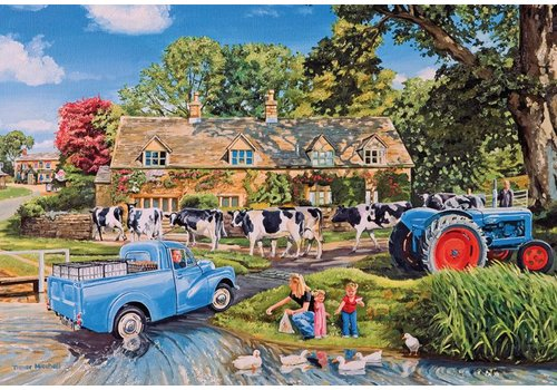 Milk on the move - puzzle 250 XL pieces