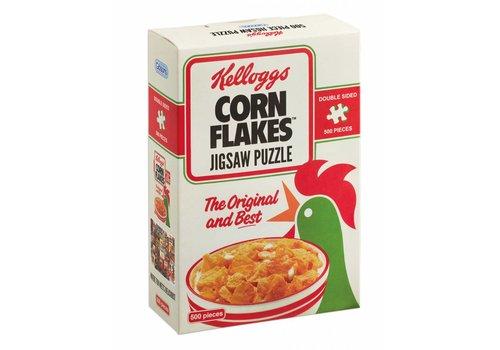 Gibsons Kellogg's Cornflakes dubbelzijdig puzzel - 500 stukjes