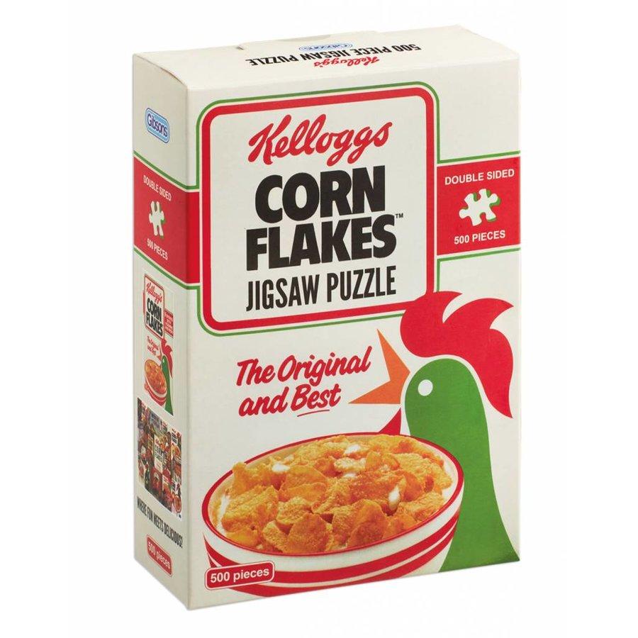 Kellogg's Cornflakes dubbelzijdig puzzel - 500 stukjes-1