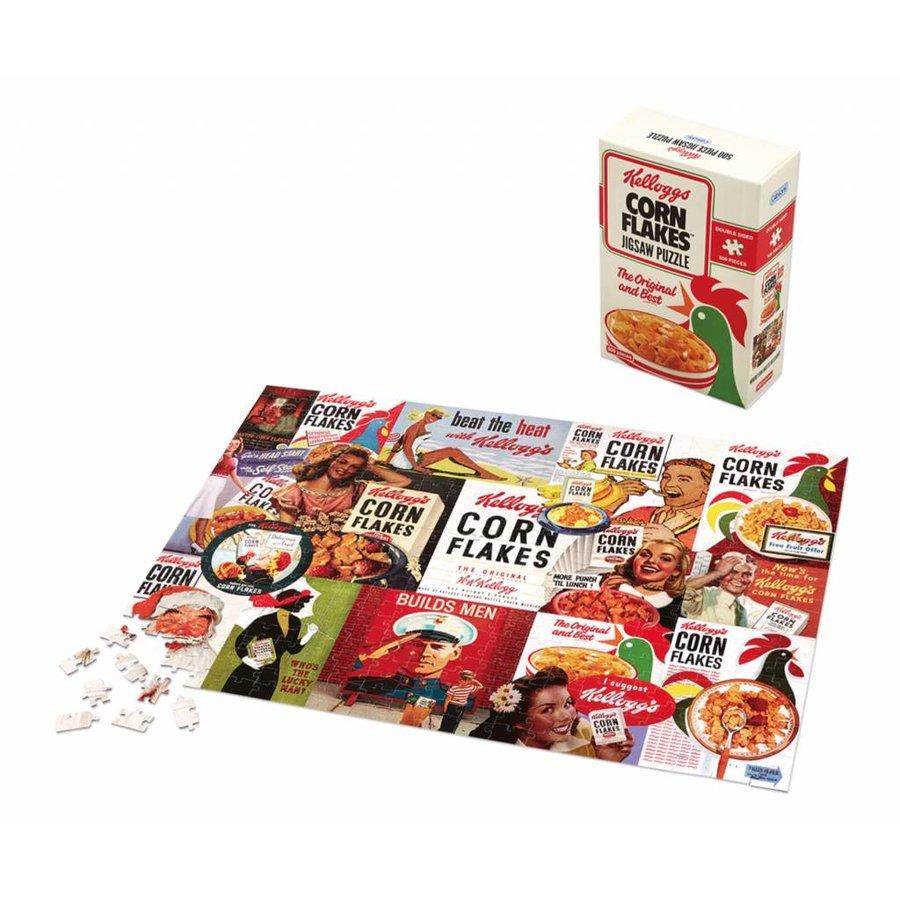 Kellogg's Cornflakes dubbelzijdig puzzel - 500 stukjes-3