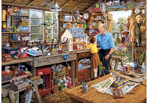 Grandad's Workshop  - 500 XL pieces