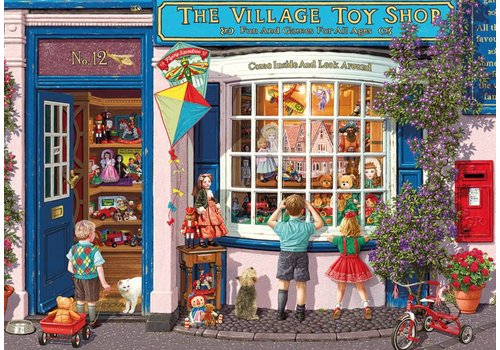 Gibsons The Village Toy Store  - 500 XL pieces