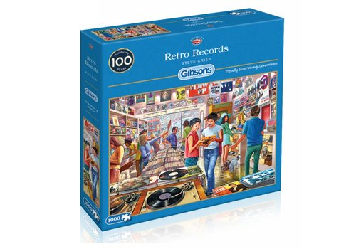 Retro Records - 1000 stukjes