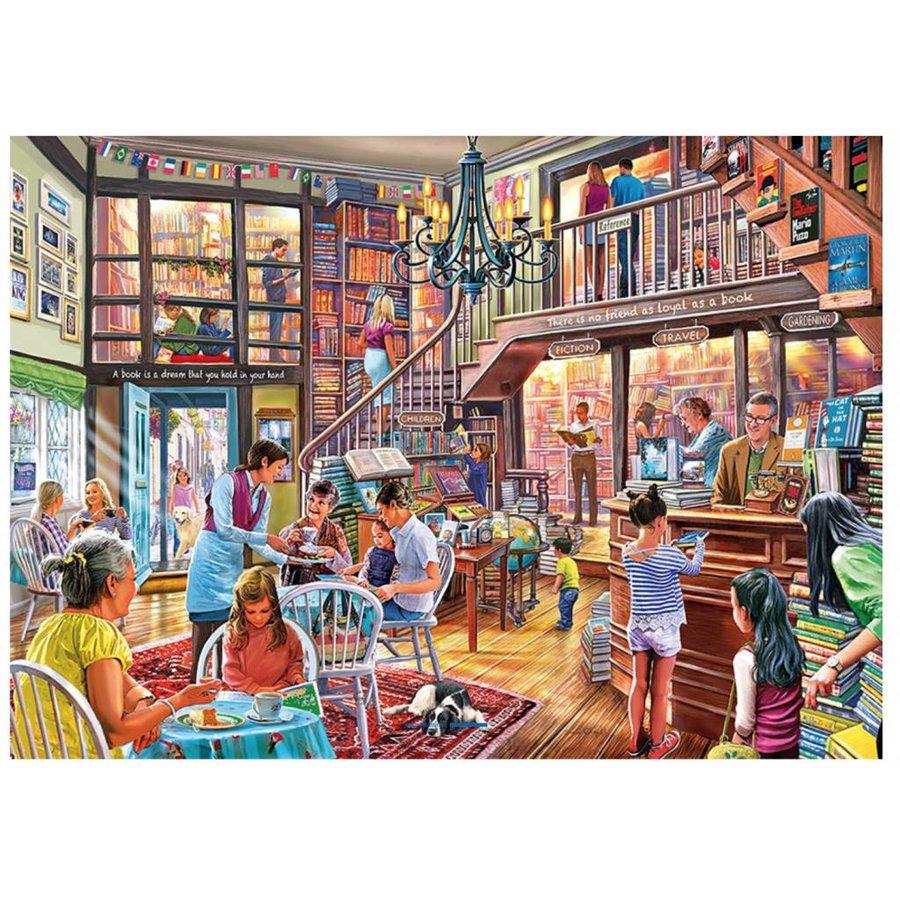 Temps des livres  - puzzle de 1000 pièces-1