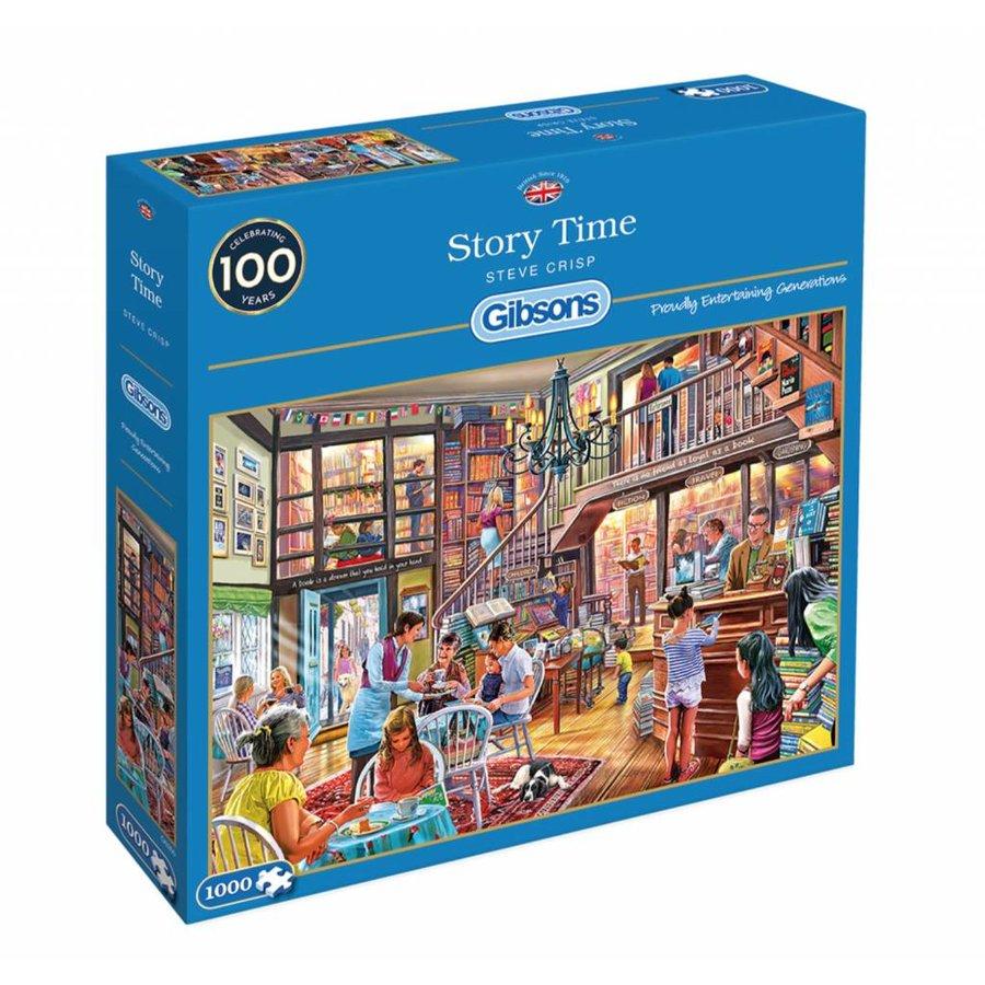 Temps des livres  - puzzle de 1000 pièces-2