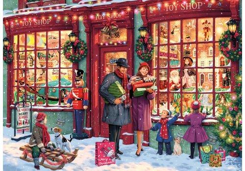 De speelgoedwinkel in kerstsfeer - 2000 stukjes