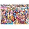 Gibsons Tombola in het dorp - puzzel van 1000 stukjes