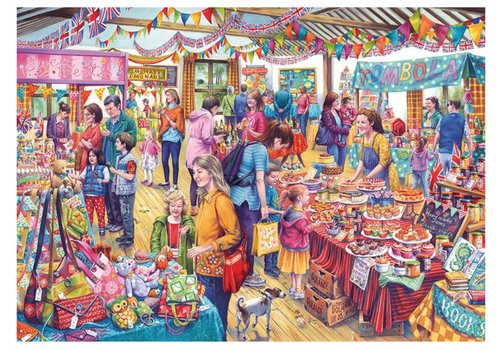 Gibsons Village Tombola - 1000 pieces
