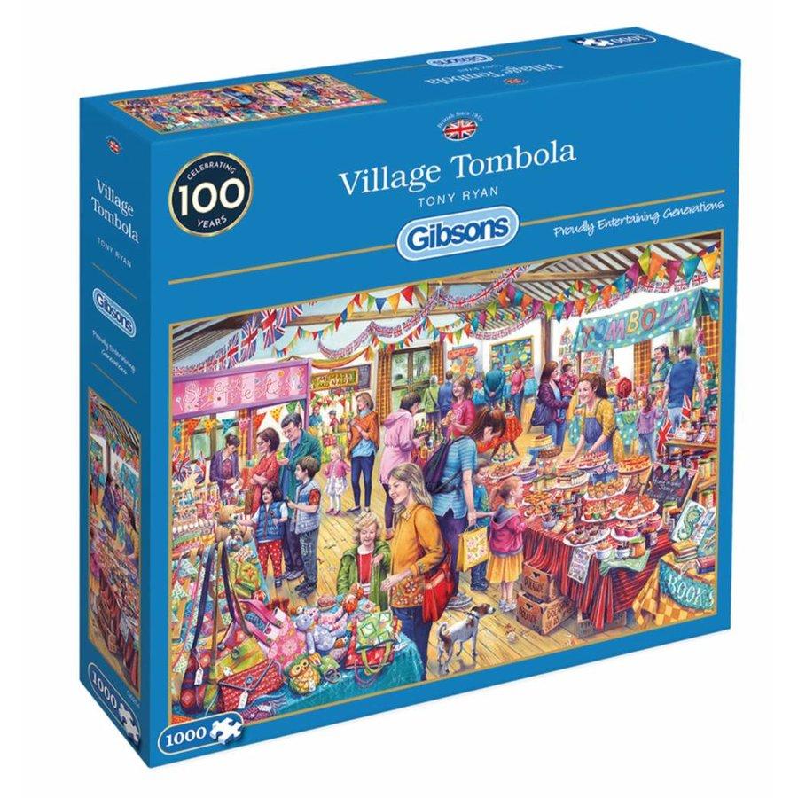 Tombola in het dorp - puzzel van 1000 stukjes-2