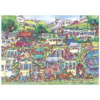 thumb-Caravan Chaos - jigsaw puzzle of 1000 pieces-1