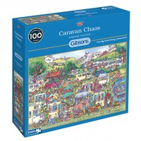 thumb-Caravan Chaos - jigsaw puzzle of 1000 pieces-2