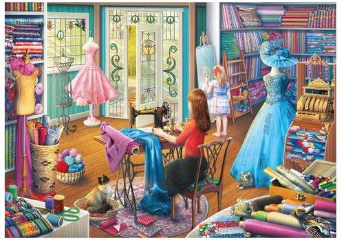 Gibsons La fille de la couturière - 1000 pièces