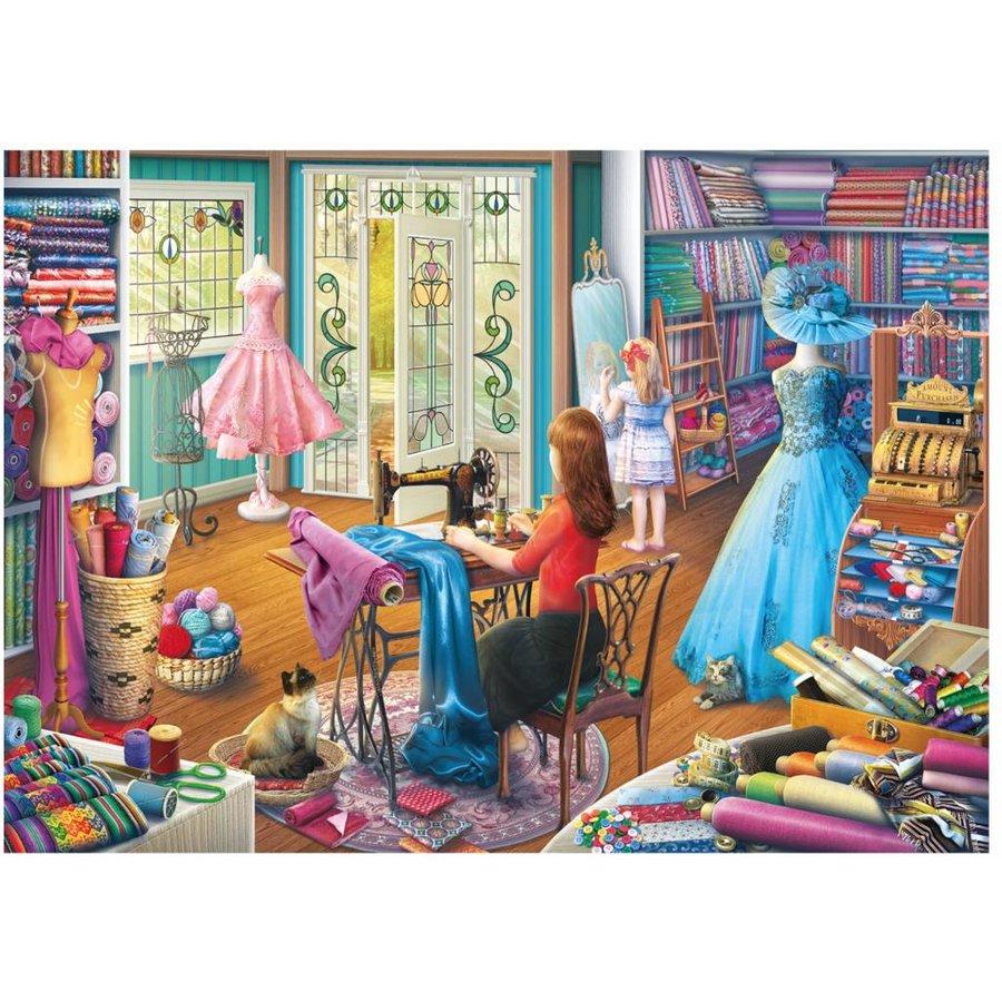 De dochter van de kleermaakster - puzzel van 1000 stukjes-1