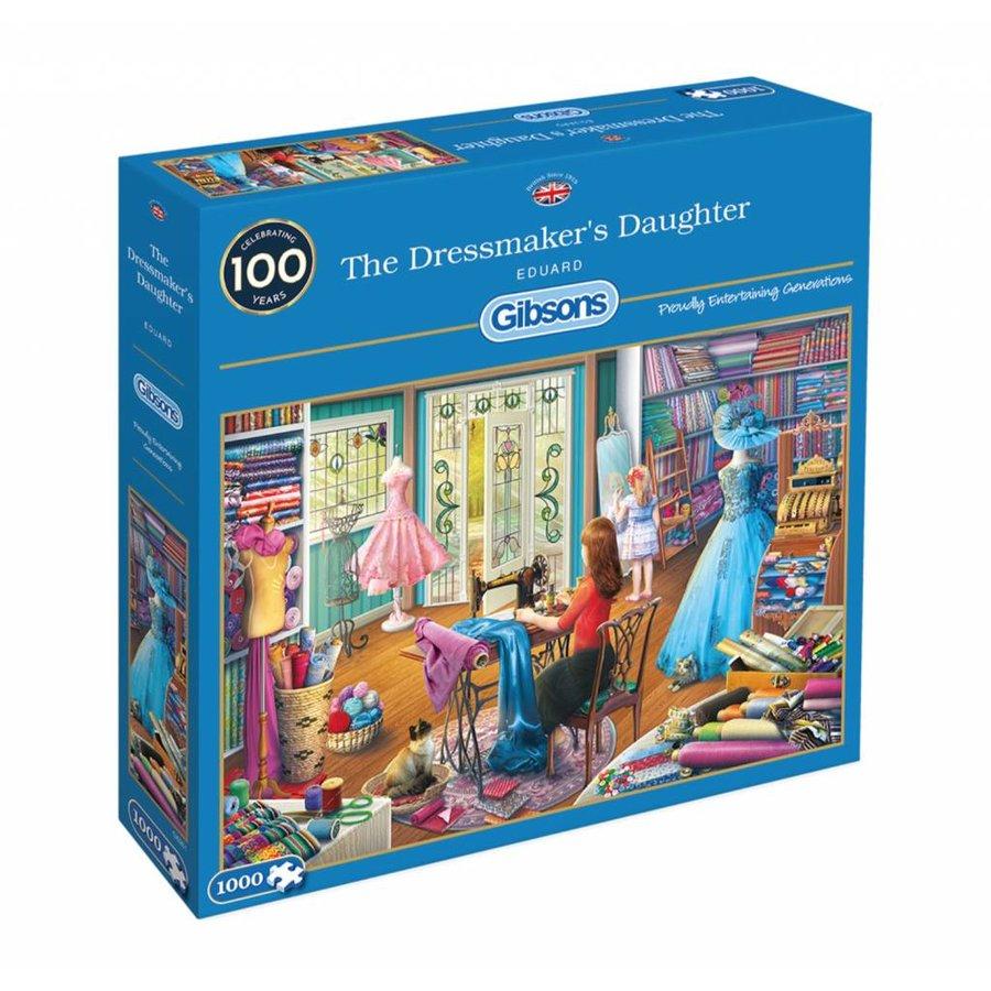De dochter van de kleermaakster - puzzel van 1000 stukjes-2