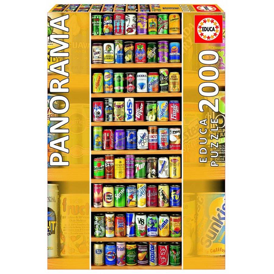 Les boîtes de boissons gazeuses - 2000 pièces-2