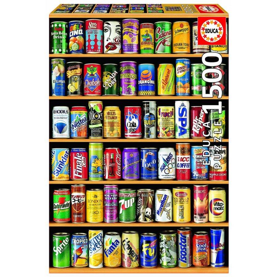 Que pouvez-de soda vous voulez? - 1500 pièces-2
