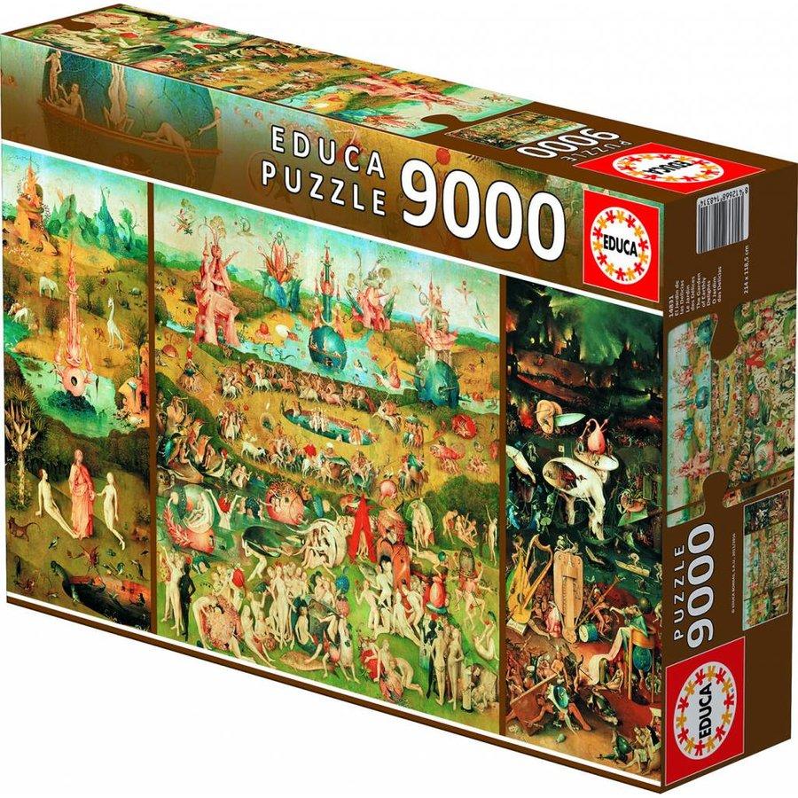 De Tuin der Lusten - puzzel van 9000 stukjes-2