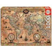 thumb-Antieke wereldkaart - 1000 stukjes-2