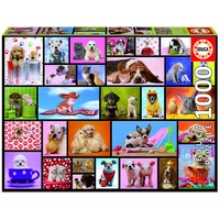 thumb-Grappige dieren - puzzel van 1000 stukjes-2