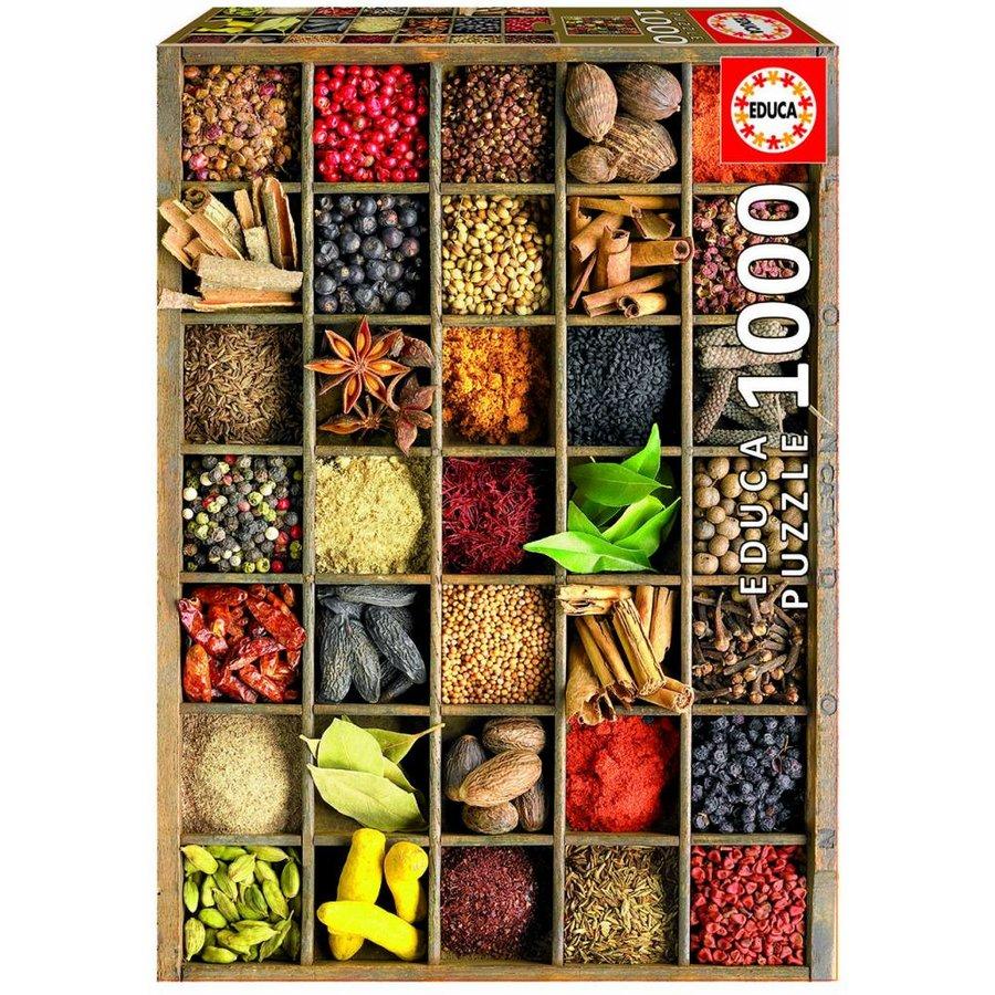 Kruidenbakjes - puzzel van 1000 stukjes-2