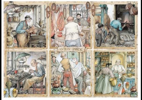 Jumbo Artisanat d'art - Anton Pieck - 1000 pièces