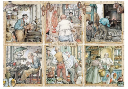 Craftmanship - Anton Pieck - 1000 pieces