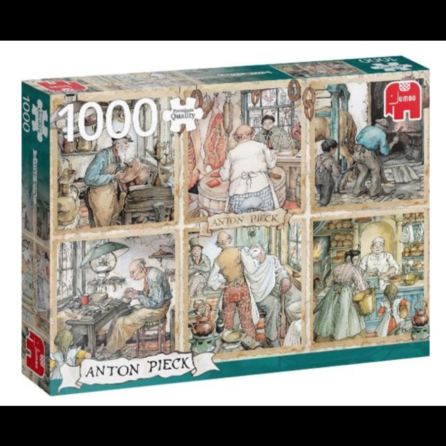 Craftmanship - Anton Pieck - 1000 pieces-2