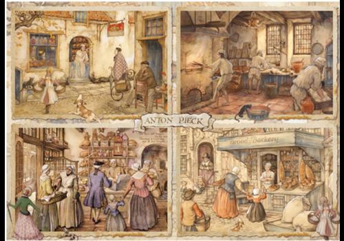 Boulangers - Anton Pieck - 1000 pièces