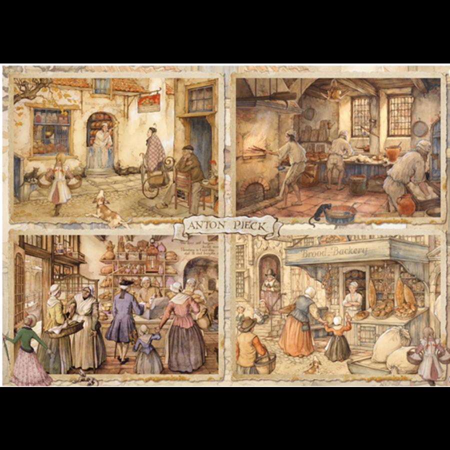 Bakers - Anton Pieck - 1000 pieces-1